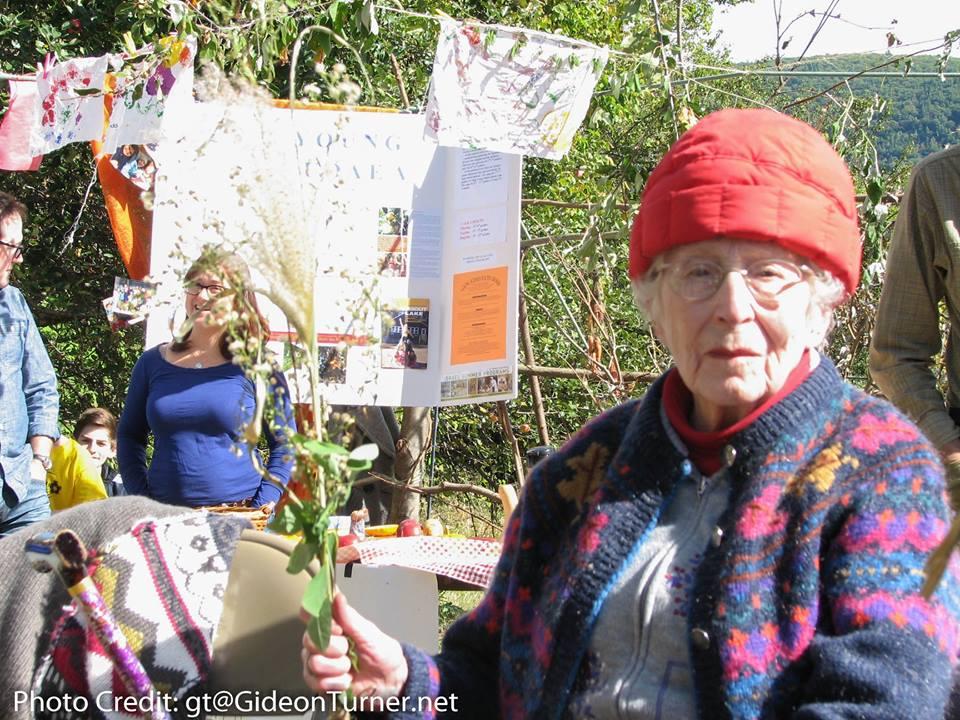 older woman sukkot